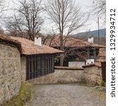 rural landscale  old typical... | Shutterstock . vector #1329934712