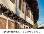 rural landscale  old typical... | Shutterstock . vector #1329934718