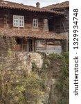 rural landscale  abandoned old... | Shutterstock . vector #1329934748