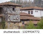 rural landscale  abandoned old... | Shutterstock . vector #1329934772