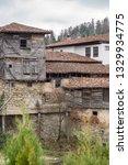 rural landscale  abandoned old... | Shutterstock . vector #1329934775