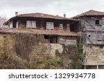 rural landscale  abandoned old... | Shutterstock . vector #1329934778