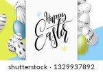 vector illustration of easter... | Shutterstock .eps vector #1329937892