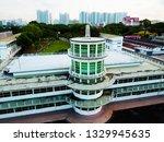 Kallang Airport Tower Singapore Drone Shot
