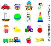 toys | Shutterstock .eps vector #132996242