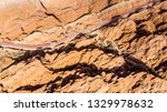 top view of rainbow mountains... | Shutterstock . vector #1329978632