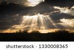 sunbeams namibia africa | Shutterstock . vector #1330008365