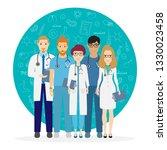 doctors. team of medical... | Shutterstock .eps vector #1330023458