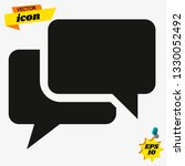 chat icon in trendy flat style...