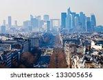 above view of avenue de la...