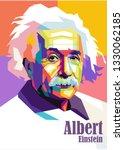 Portrait Of Albert Einstein...