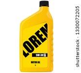 motor oil an illustration of a... | Shutterstock .eps vector #1330072205