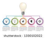abstract options infographics... | Shutterstock .eps vector #1330102022