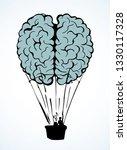 line fun nervous logic organ... | Shutterstock .eps vector #1330117328