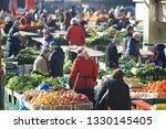 zagreb  croatia  feberury 10... | Shutterstock . vector #1330145405
