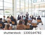 rear view of interactive... | Shutterstock . vector #1330164782