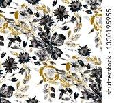 watercolor seamless pattern... | Shutterstock . vector #1330195955