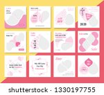 12 slides unique editable... | Shutterstock .eps vector #1330197755