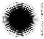 circle half tone element over... | Shutterstock .eps vector #1330215485