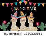 cinco de mayo greeting card...   Shutterstock .eps vector #1330230968
