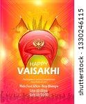 illustration of happy baisakhi...   Shutterstock .eps vector #1330246115