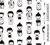 Cute Kokeshi Dolls. Various...