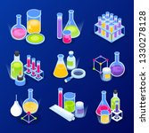 science research  chemical... | Shutterstock .eps vector #1330278128