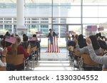 front view of caucasian... | Shutterstock . vector #1330304552
