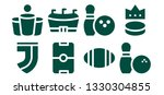 league icon set. 8 filled... | Shutterstock .eps vector #1330304855