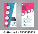 flyer template. vectical banner ...   Shutterstock .eps vector #1330331015