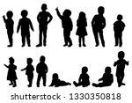 collection  set  kids ... | Shutterstock .eps vector #1330350818