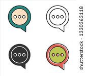 speech bubble icon.
