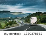 special concrete transport... | Shutterstock . vector #1330378982
