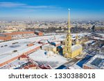 peter and paul cathedral in... | Shutterstock . vector #1330388018