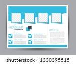 landscape wide flyer template....   Shutterstock .eps vector #1330395515