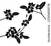 vector floral illustration... | Shutterstock .eps vector #1330400078