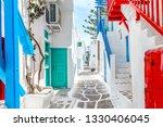 Traditional Greek Street On...
