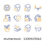 bio shopping  face detect and... | Shutterstock .eps vector #1330425062