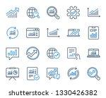 analytics  statistics line... | Shutterstock .eps vector #1330426382