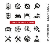 car service and repair icons... | Shutterstock .eps vector #1330442072