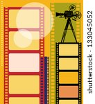 abstract cinema background ... | Shutterstock .eps vector #133045052