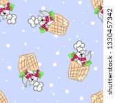 vector illustration  funny... | Shutterstock .eps vector #1330457342