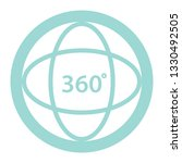 360 degree video or view 360... | Shutterstock .eps vector #1330492505