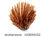 raw whole grain spaghetti | Shutterstock . vector #133054232