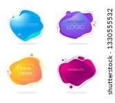 abstract colour spots. original ...   Shutterstock .eps vector #1330555532