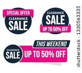 label promotion sale sticker... | Shutterstock .eps vector #1330563335