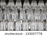 water glass pile | Shutterstock . vector #133057778