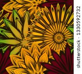 seamless floral background. the ... | Shutterstock .eps vector #1330592732