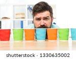 choose from alternatives. man... | Shutterstock . vector #1330635002