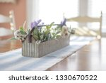 Rustic Spring Decor For Dining...